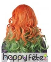 Perruque verte et rousse pour femme, image 2