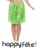 Pagne vert fleuri Hawaïen