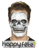Postiche visage squelette en mousse de latex, image 3