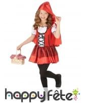 Robe à capuche petit chaperon rouge enfant, image 1