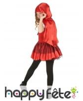 Robe à capuche petit chaperon rouge enfant, image 2