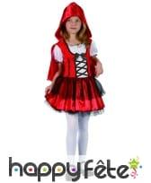 Robe à capuche petit chaperon rouge enfant, image 3