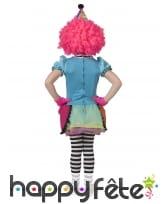 Robe arc-en-ciel de clown pour enfant, image 1