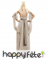 Robe blanc cassé de Daenerys Targaryen pour femme, image 1