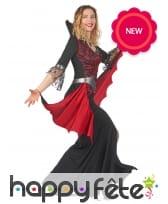 Robe baroque de femme vampire, image 1