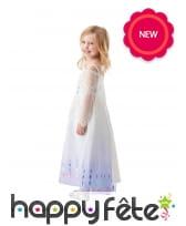 Robe blanche de Elsa pour fille, image 1