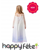 Robe blanche de Elsa pour fille, image 2