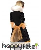 Robe baroque noire or pour femme, image 1
