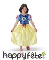 Robe classique de Blanche Neige pour enfant