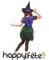 Robe colorée de petite sorcière pour enfant, image 2