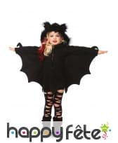 Robe chauve-souris à capuche pour enfant