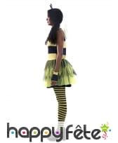 Robe d'abeille pour femme avec ailes, image 1