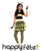 Robe d'abeille pour femme avec ailes