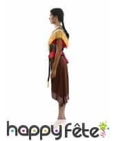 Robe d'amérindienne pour adulte, image 1