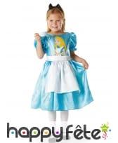 Robe de Alice au pays des merveilles pour fille