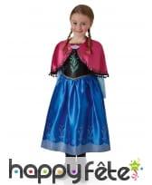 Robe de Anna pour fillette, Reine des Neiges