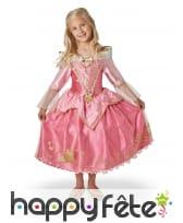 Robe de Aurore Disney pour fillette