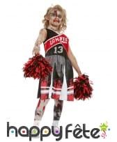Robe de Cheerleader zombie pour enfant, image 1