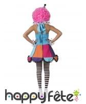 Robe de clown multicolore pour femme, image 1