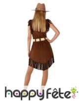 Robe de cowgirl pour ado, marron, image 2