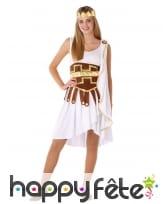 Robe de déesse romaine pour ado