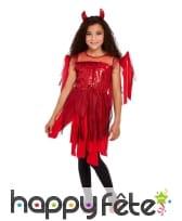 Robe de diablesse en lambeaux pour enfant, image 2