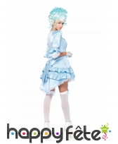 Robe de duchesse bleue sexy pour adulte, image 1