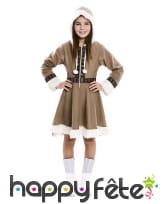Robe d'esquimau pour enfant