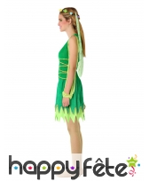 Robe de fée verte pour adolescente, image 1