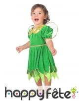 Robe de fée verte pour bébé
