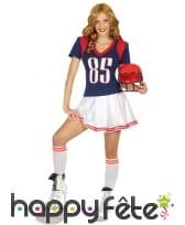 Robe de football américain pour femme