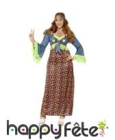 Robe de hippie grande taille