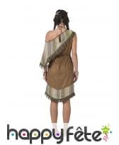 Robe d'indienne marron pour femme, image 1