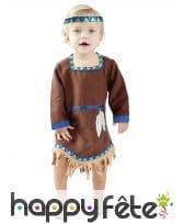 Robe d'indienne pour bébé