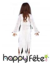 Robe de jeune mariée fantôme avec voile, enfant, image 1