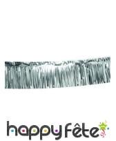 Rideau de lamelles argentées 30cm x 6m