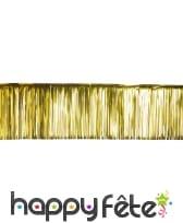 Rideau de lamelles dorées 0.5/5 m