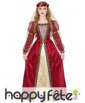 Robe de mariée médiévale pour enfant
