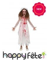 Robe de mariée zombie pour enfant
