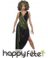 Robe de médusa, élégante, pour femme