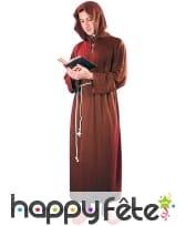 Robe de moine marron pour homme