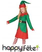 Robe de petite Elfe de Noel, image 1