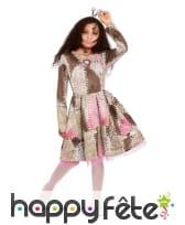 Robe de poupée vaudou rapiécée pour enfant