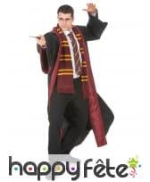 Robe de sorcier Gryffondor, réplique Harry Potter