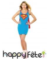 Robe de Supergirl pour femme