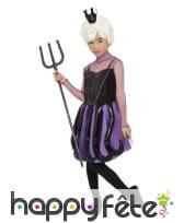 Robe de Ursula pour enfant avec tentacules