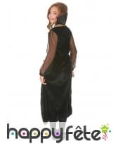 Robe de vampire noire avec arabesques pour enfant, image 2