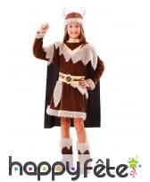 Robe de viking pour fille