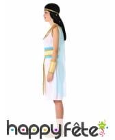 Robe Egyptienne blanche pour ado, image 1