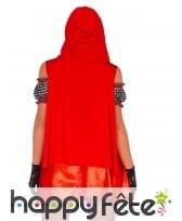 Robe et cape de petit chaperon rouge pour femme, image 1